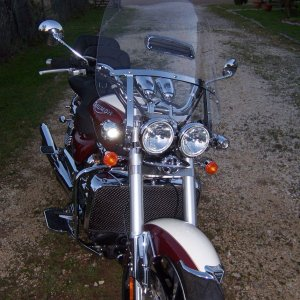 "CLEARVIEW 25"" WINDSHIELD"