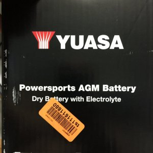 OEM YUASA battery is AGM?