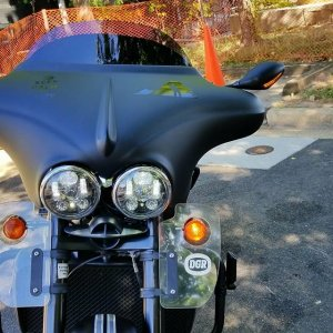 2013 Triumph Rocket Roadster (with extras)