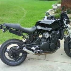 Triumph Trophy Streetfighter