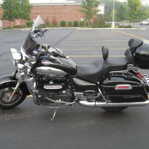 My 2008 Triumph Rocket III Touring