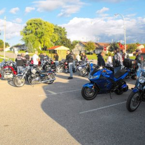 28th Annual Motorcycle Rally, Marne, Iowa 2009