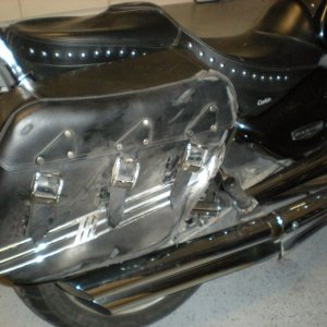 My Crashed 2007 R3, it was a great bike...