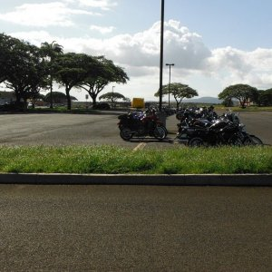 80 bike ride on Oahu, HI