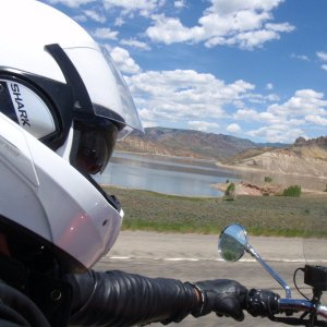 Ride to Blue Mesa dam
